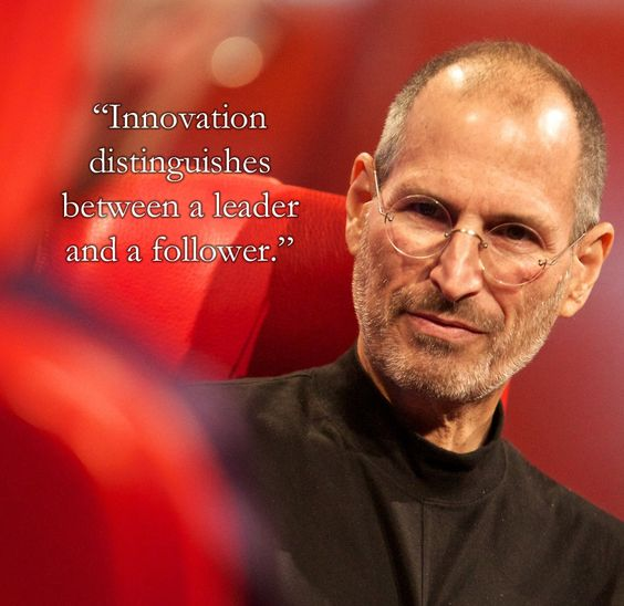 So inspirational words from Steve but I thought I'd go with this one. From a man who believes that innovation is the enemy of commoditisation I think the great man nails it here.