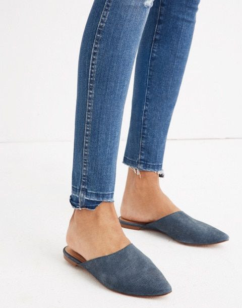 Women's Remi Mule in Stamped Lizard   Mules, Slip on, Shoes