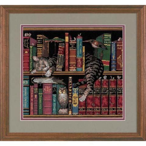 Dimensions® Frederick the Literate Counted Cross-Stitch Kit