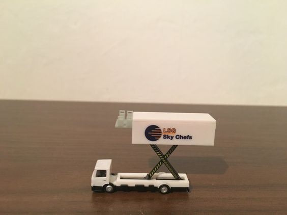 Herpa Scenix Series Catering Truck LSG SKY CHEFS 1,200 Scale,Made - lsg sky chef sample resume