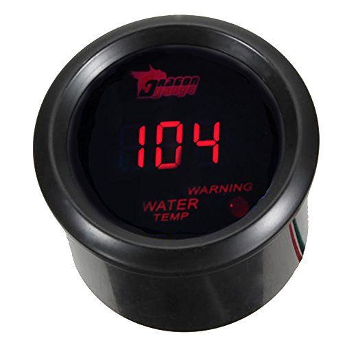 Diameter 2 52mm Waring Gentle 212 Energy Dc 10 15v 12v Skilled Sensor Mounting Thread Npt 1 8 Read 104 300 Water Temp Ga In 2020 Red Led Car Gauges Led