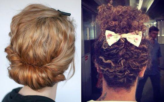 10 penteados incríveis para cabelos cacheados - Beleza - CAPRICHO