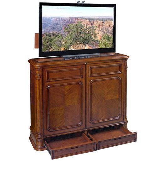 Retractable Flat Screen Tv Stands Entertainment Amp Bar