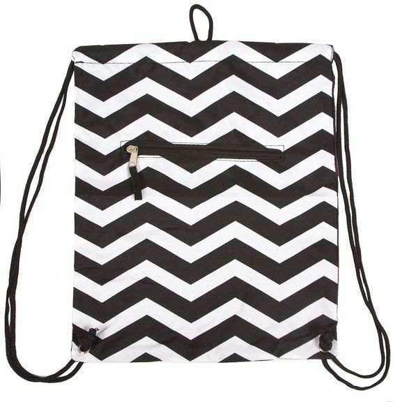 Top Cinch Sack Drawstring Small Backpack Bag Back to School Essential Supplies -- Amazing product just a click away  : Christmas Luggage and Travel Gear