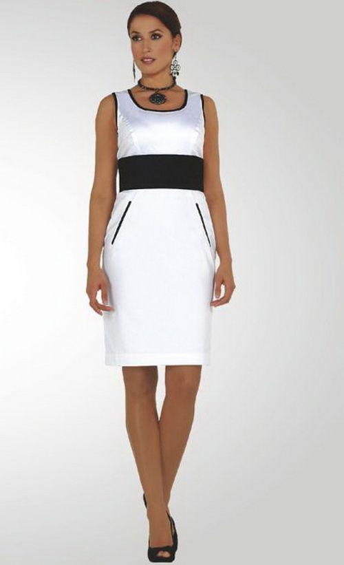 Ladies in black dresses | Black Women White Church Dresses | World ...