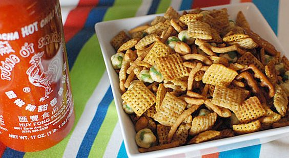 Sriracha Chex Mix™ | Recipe | Sauces, Rice chex and Spicy