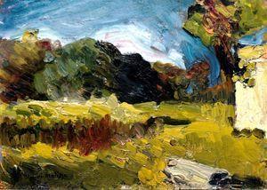 Henri Matisse - Corsica Paesaggio 1898