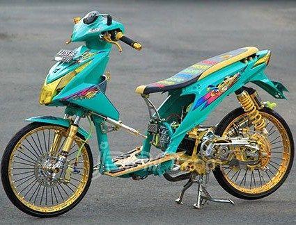 Gambar Modifikasi Honda Beat Esp 14 Honda Gambar Motor
