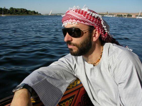Mi version del arabe guapo