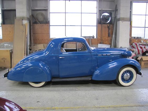 1936 oldsmobile 3 window coupe dream car build