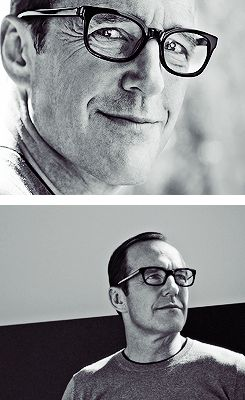 Clark Gregg. You see the jaw line?