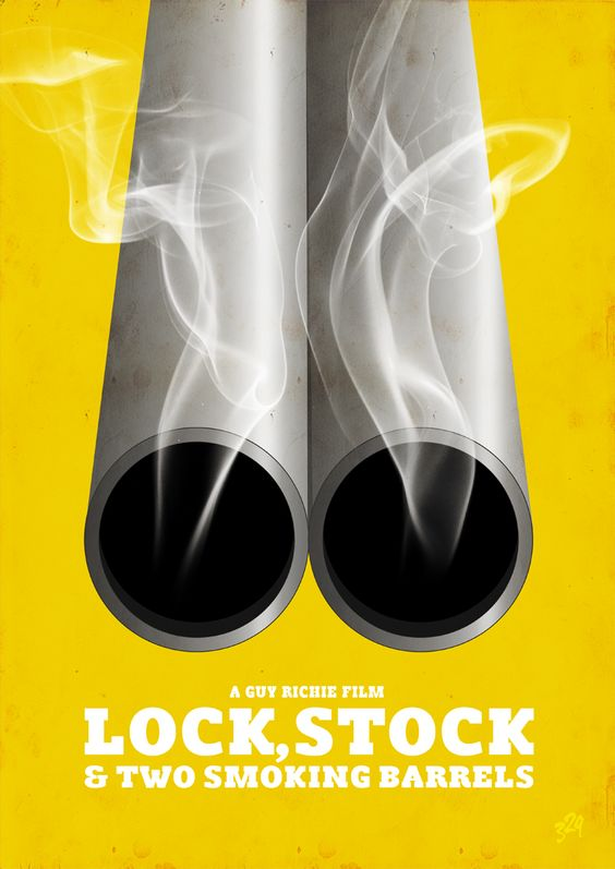Lock Stock & Two Smoking Barrels - Guy Richie's truly great gangster movie #GangsterFlick