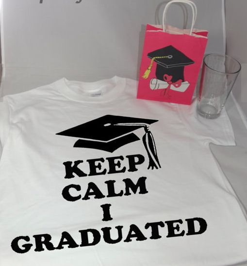 keep calm I graduated t-shirt