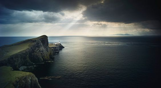 Schottisches Hochland: Zehn Meter hohe Wellen überraschten die Küstenbewohner...