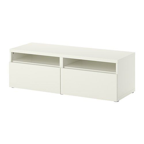 BESTÅ Storage combination with drawers IKEA Smooth running drawers with drawer stop.