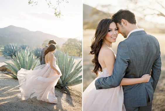 tulle engagement