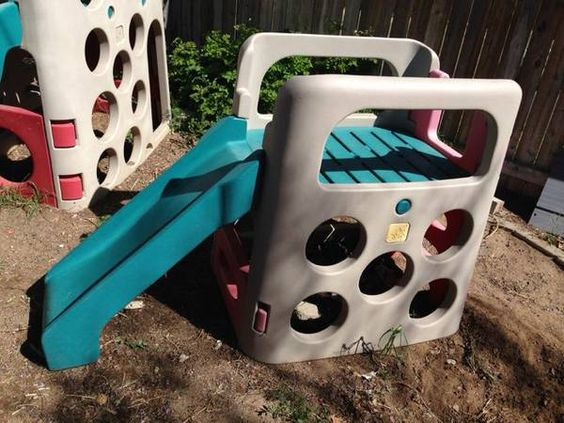 Step 2 climber with slide asking 125 obo north reno off for Step 2 rocking fish