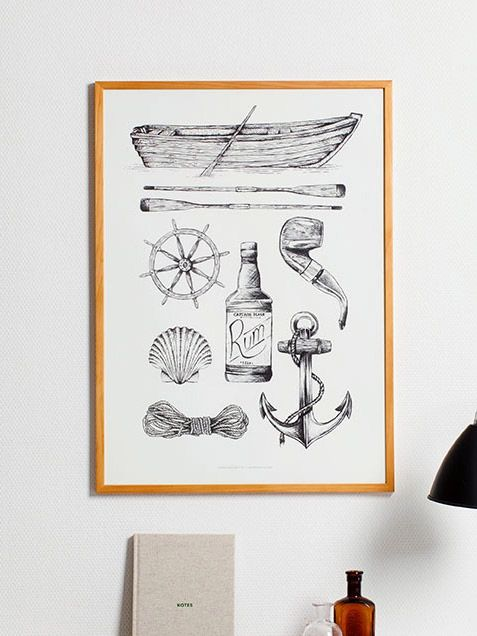 Sailor Poster by Paper Collective