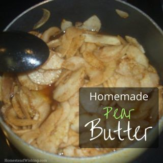 Pear butter Recipe. We have lots of pear coming from the orchard. Come see what we do with all of them!