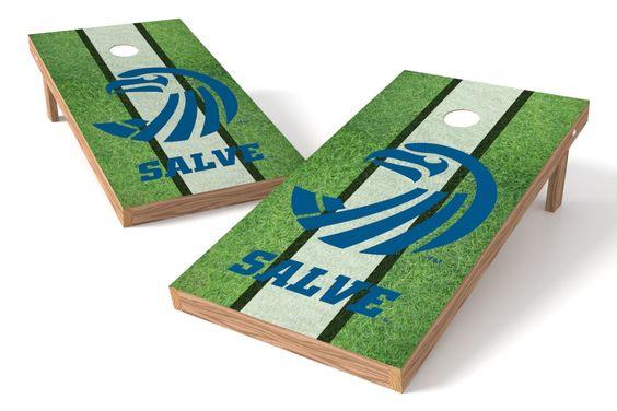 Salve Regina Seahawks Cornhole Board Set - Field