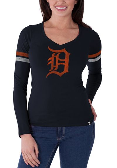 Detroit Tigers 47 Brand Womens Long Sleeve Tee http://www ...
