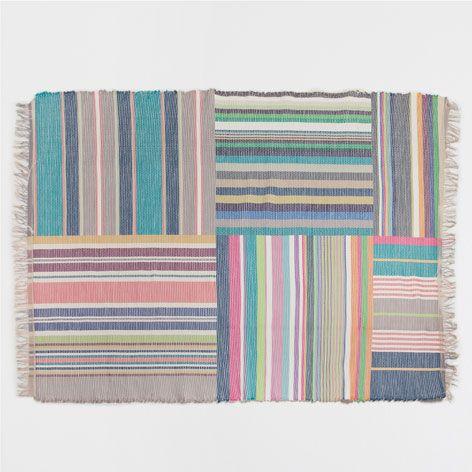 PATCHWORK-TEPPICH MIT STREIFEN - Teppiche - Dekoration | Zara Home Deutschland