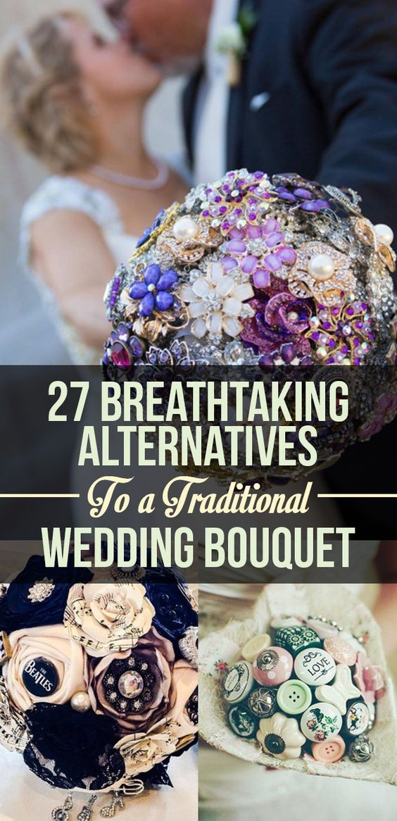 You are definitely not going to want to toss any of these at your reception.