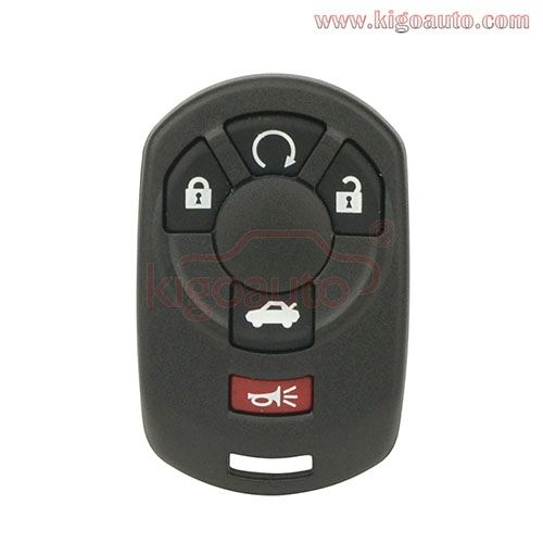 Acadia Remote Start For Use On Gmc Vehicles With Manual Liftgate