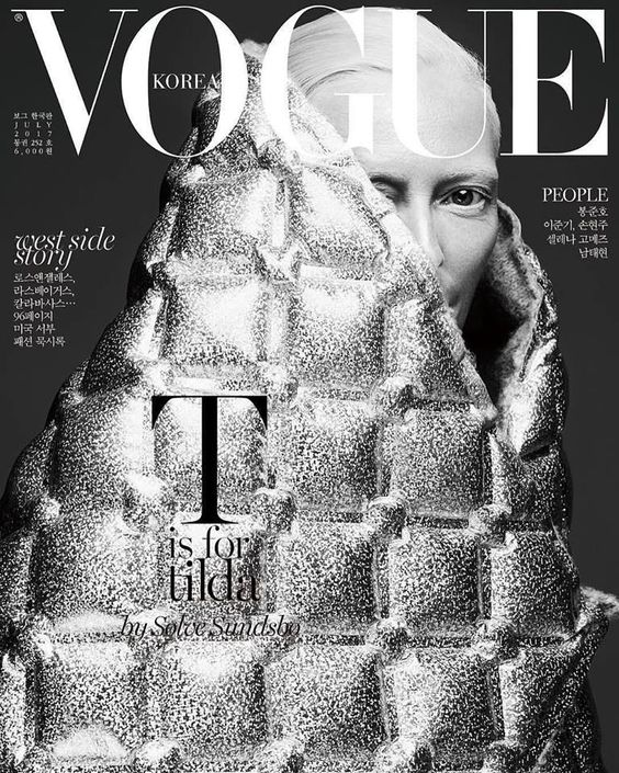 Tilda Swinton for Vogue Korea July 2017 | Art8amby's Blog