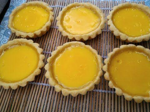 Resep Egg Tart Pie Pastry Youtube Gula Telur