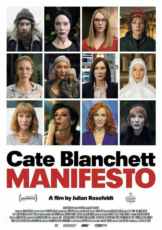 Pin By Gabriela Barragan On Movie Stars Manifesto Film Cate Blanchett Manifesto Cate Blanchett
