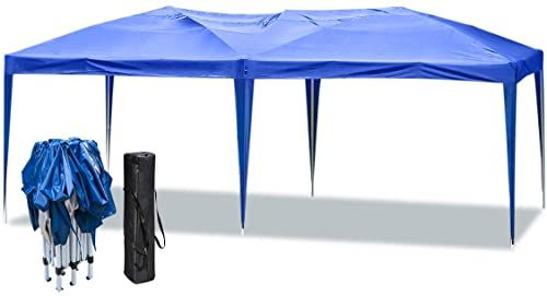New Erommy Outdoor 10x20 Ft Pop Canopy Party Tent Heavy Duty Gazebos Shelters Events Wedding Party Blue Online Ppwonderfulrange In 2020 Heavy Duty Gazebo Party Tent Blue Patio Furniture