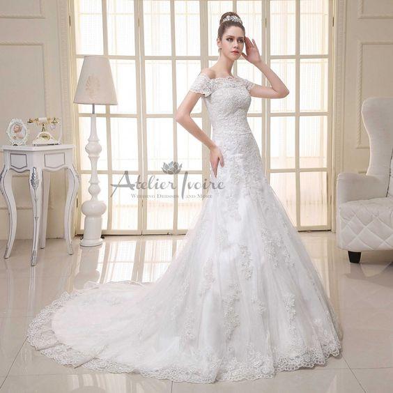 Wedding dress Rochelle by Atelier Ivoire