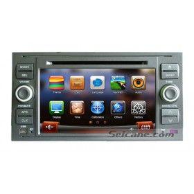 7 pouces 2005 2006 2007 2008 Ford TRANSIT CONNECT FUSION FIESTA KUGA appui tête DVD Radio Bluetooth GPS Sat Nav système audio avec Ecran tactile USB SD TV Caméra AUX