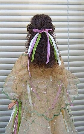 "Padme Amidala - OOAK Picnic dress for 12"" Barbie doll"