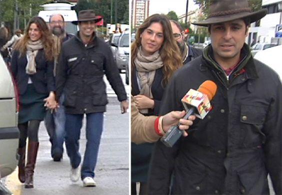 Francisco Rivera acude con su novia a conocer a su sobrino: 'El niño es una monada' #toreros #famosos