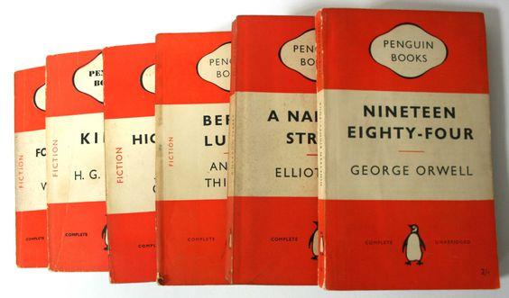 1000 Decorative Vintage Penguin paperbacks - Pallet of books by WorldofRareBooks on Etsy https://www.etsy.com/listing/188810299/1000-decorative-vintage-penguin