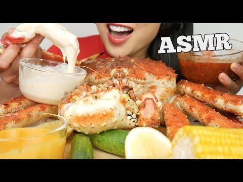 Asmr 10lb King Crab Cheese Seafood Alfredo Sauce Eating Sounds No Talking Sas Asmr Youtube In 2020 King Crab Eat Crab 10:01 sasvlogs all vlogs food related. pinterest