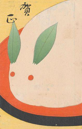 китайский рисунок кролика