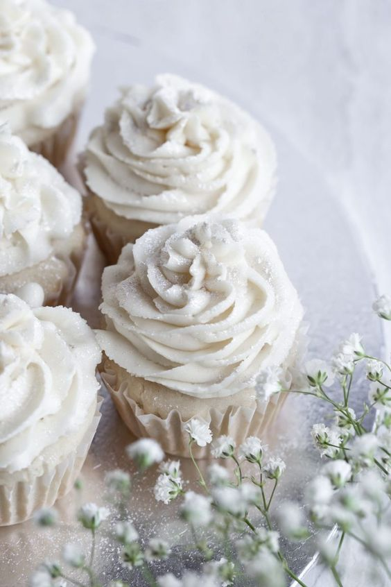 Vegan Vanilla Cupcakes (Gluten-free) Wedding | The Vegan 8