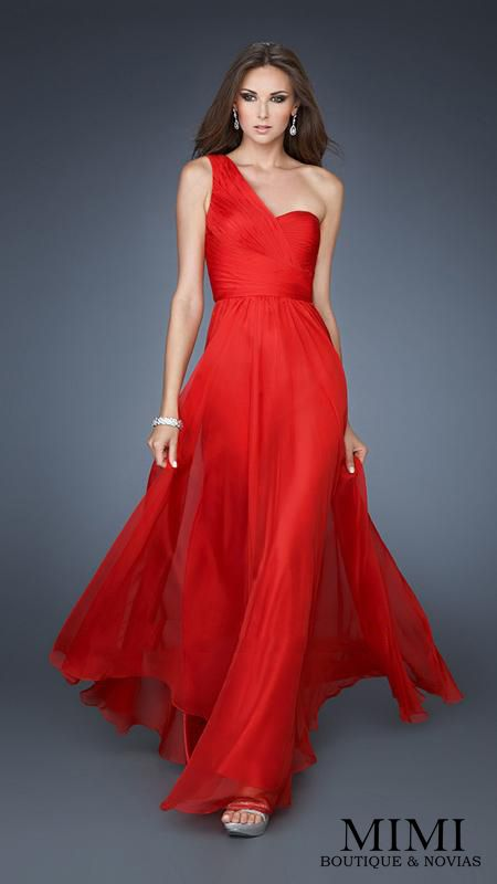Red long dress mimi red  Party dresses  Pinterest  Long ...