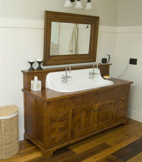 Primitive Bathroom Vanity | Primitive | Pinterest | Primitive Bathrooms, Bathroom  Vanities And Primitives