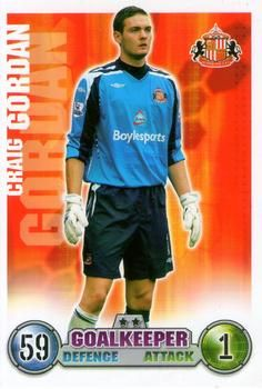 2007-08 Topps Premier League Match Attax #257 Craig Gordon Front