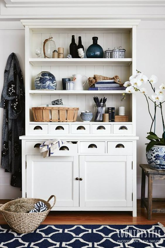 Country Style Magazine. Tired of hiding your beautiful things in cupboards? Here are some beautiful ways to put them on display. Photography Alicia Taylor, styling Tessa Kavanagh. #countrystylemag #storage #storageidea