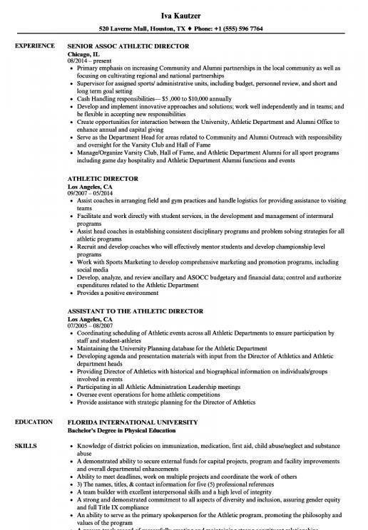 College Student Athlete Resume Examples Project Manager Resume Job Resume Examples Resume Examples