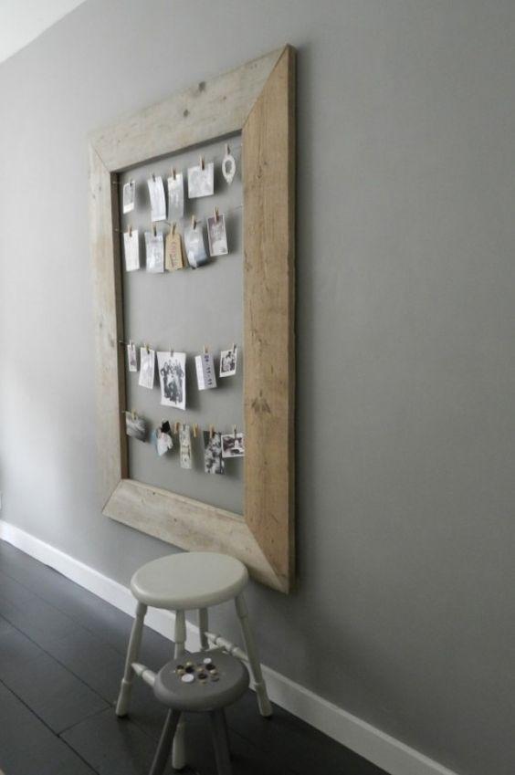 Voor in de keuken op muur | Tips om zelf te maken: http://www.jouwwoonidee.nl/fotohart-in-de-slaapkamer/