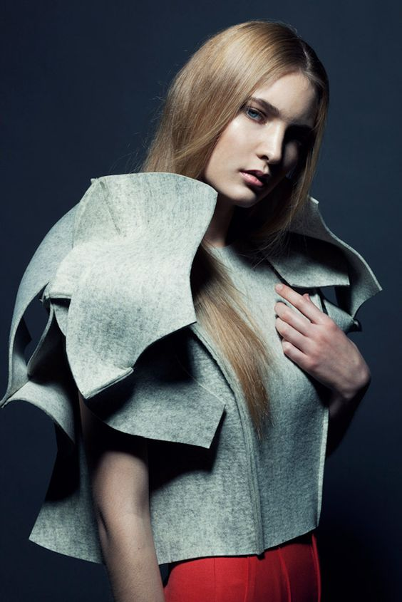 """Fashion designer Arena Page flirts with mathematics and beauty. Her """"Simple Complexity Complex Simplicity"""" collection is inspired by the Möbius strip and plays with the use of experimental 3D design."""