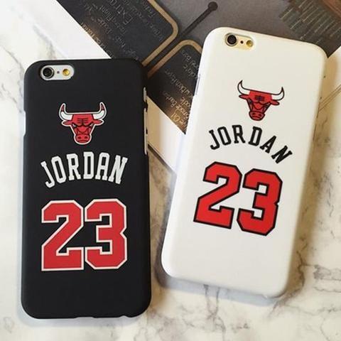 Jordan 23 Basketball Sports Matte Case for Coque iPhone X 6 6s 7 8 ...