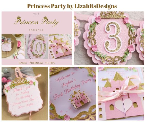 Princess Party by LizabitsDesigns