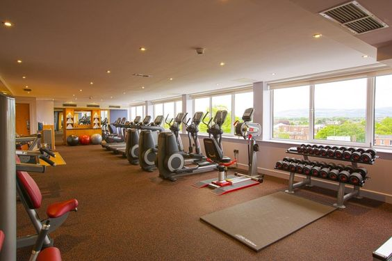 The Guest Fitness Room is open 24 hours to Hotel Guests and feature features a range of cardio and strength training machines with a dedicated weights areas.